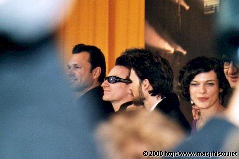 Bono @ Berlinale 2000
